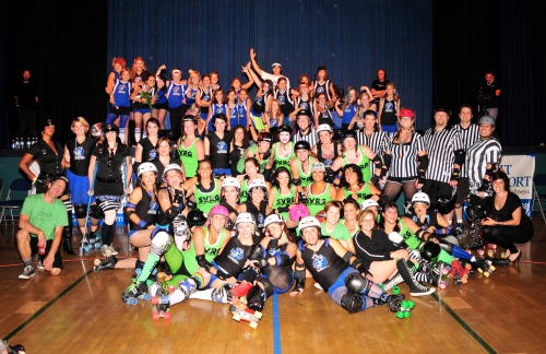 SVRG, SCRG, and the SC groms after the bout. Photo credit: Jim Cottingham
