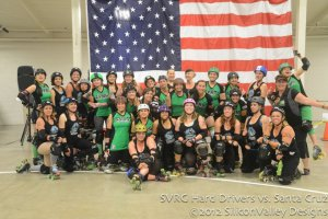©2012 Mike Ko, SiliconValley Designs, SVRG's Hard Drivers and SCDG's Black Thunder